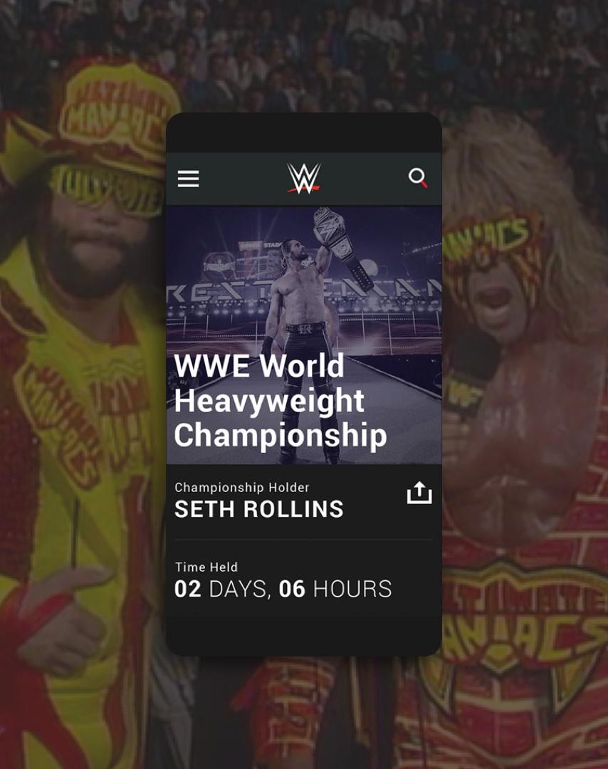 WWE – skinny 3